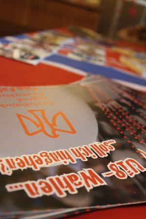 Infomaterial der Sozialistischen Jugend - Die Falken