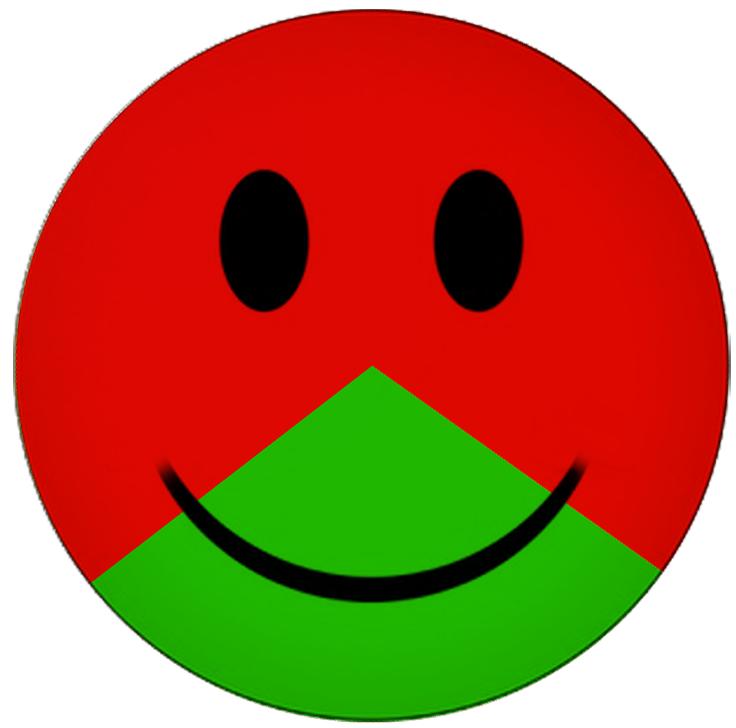 SmileyRotGrün