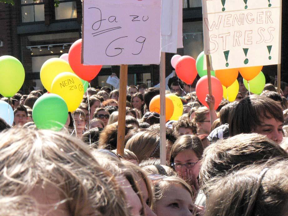 Schülerdemo LG 858