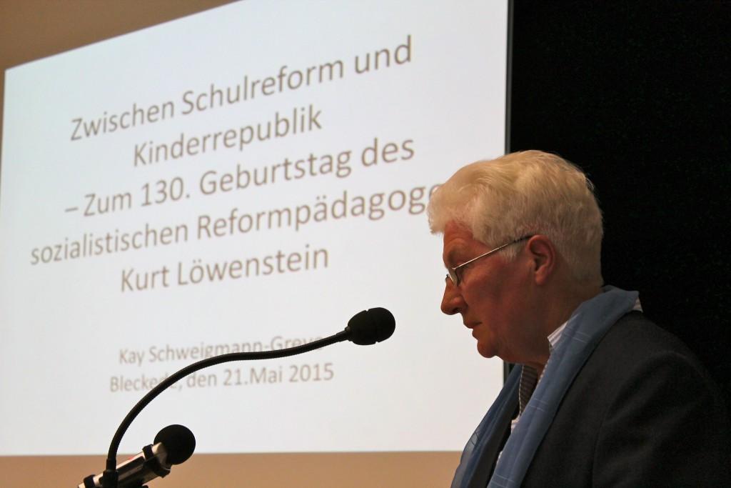 (© 2015 Georg Gunkel-Schwaderer)Erika Tipke, Bleckeder Freundeskreis Literatur in Bleckede e.V.