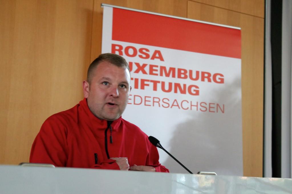 (© 2015 Georg Gunkel-Schwaderer) Der IG-Metallsekretär wurde jahrelang vom so genannten Verfassungsschutz bespitzelt...