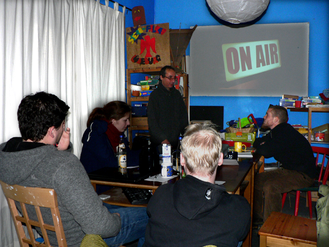 Radioworkshop Teil 1 am Sonntag 13.11.2011